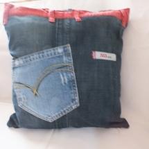 Coussins en Jeans